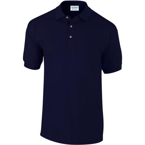 POLO MANCHES COURTES Ultra Cotton™ - bleu marine