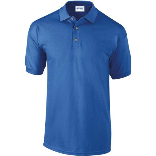 POLO MANCHES COURTES Ultra Cotton™ - bleu royal