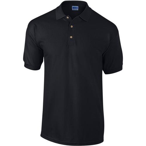POLO MANCHES COURTES Ultra Cotton™ - noir