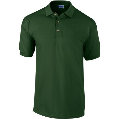 POLO MANCHES COURTES Ultra Cotton™ - vert forêt