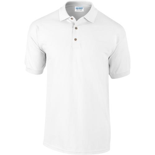 POLO MANCHES COURTES Ultra Cotton™ - blanc