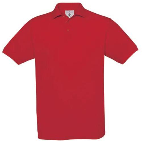POLO HOMME SAFRAN - rouge
