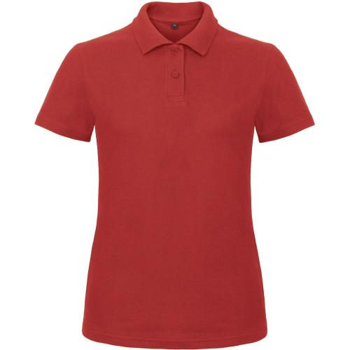 POLO FEMME ID.001 - rouge