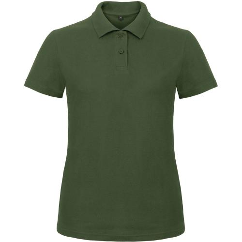 POLO FEMME ID.001 - vert bouteille