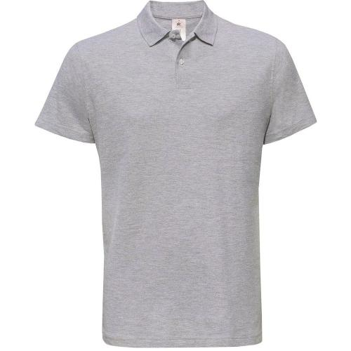 POLO HOMME ID.001 - gris chiné