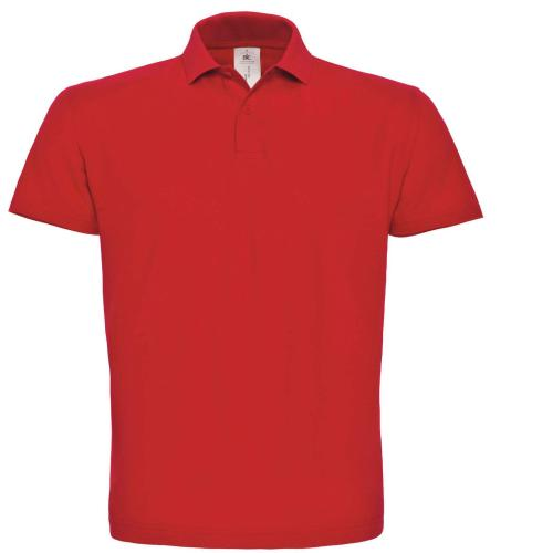 POLO HOMME ID.001 - rouge