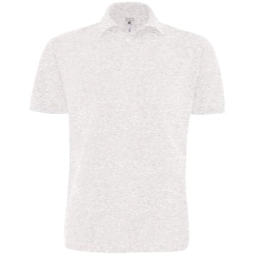 POLO HOMME HEAVYMILL - gris cendré