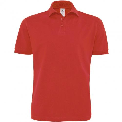 POLO HOMME HEAVYMILL - rouge