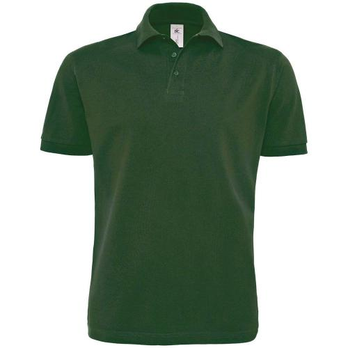 POLO HOMME HEAVYMILL - vert bouteille