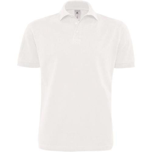 POLO HOMME HEAVYMILL - blanc