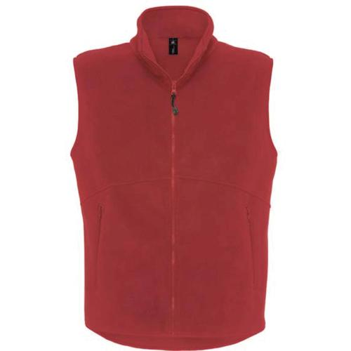 GILET POLAIRE TRAVELLER+ - rouge