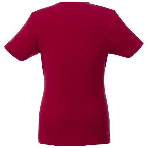 T-shirt bio manches courtes femme Balfour - rouge