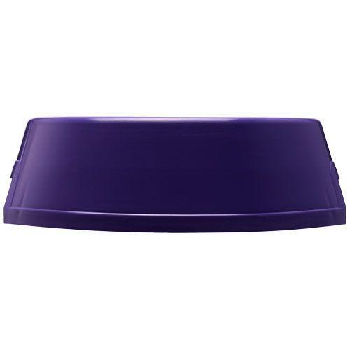 Gamelle en plastique pour chien Jet - violet