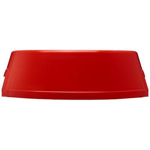 Gamelle en plastique pour chien Jet - rouge