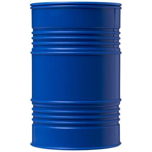 Tirelire en forme de baril de pétrole Banc - bleu