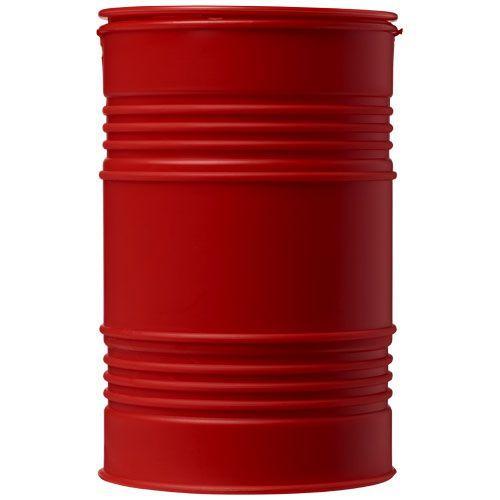 Tirelire en forme de baril de pétrole Banc - rouge