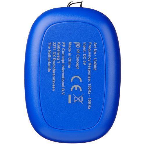 Enceinte Bluetooth® Bright BeBop - bleu royal