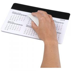 Tapis de souris avec calendrier Chart