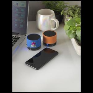 Haut-parleur Bluetooth® cylindrique Duck revêtement gomme