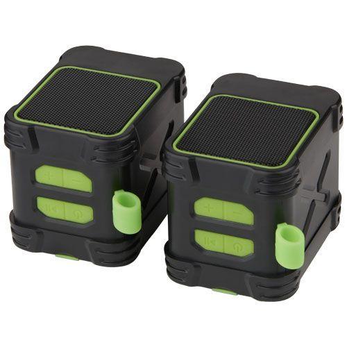 Enceintes extérieures Bluetooth® étanches Bond - vert citron