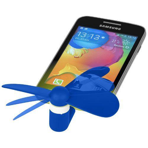 Ventilateur micro USB Airing - bleu royal