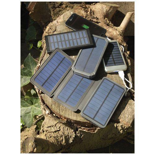 Batterie de secours solaire 10,000 mAh Peak - noir