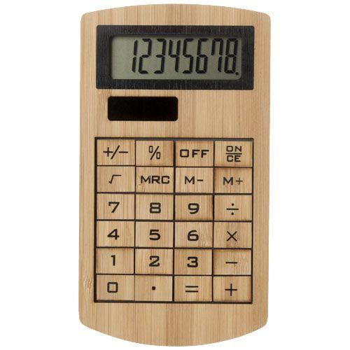 Calculatrice en bambou Eugene - bois