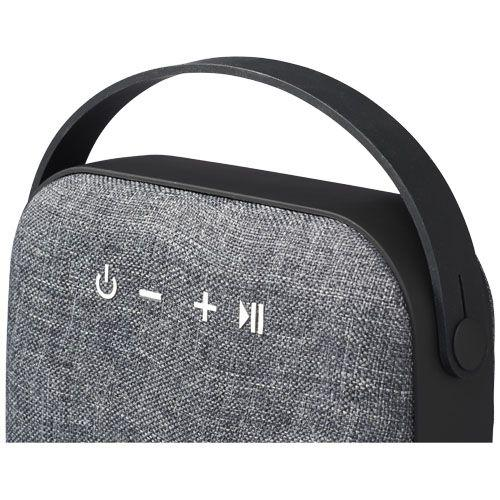 Enceinte Bluetooth® en tissu Woven - noir