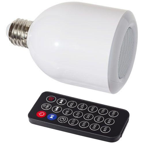 Ampoule LED à haut-parleur Bluetooth® Zeus 3W - blanc