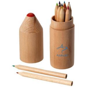 Set de 12 crayons de couleur Bossy