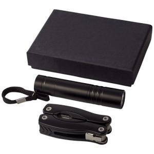 Ensemble couteau multi fonctions et lampe torche LED Scout