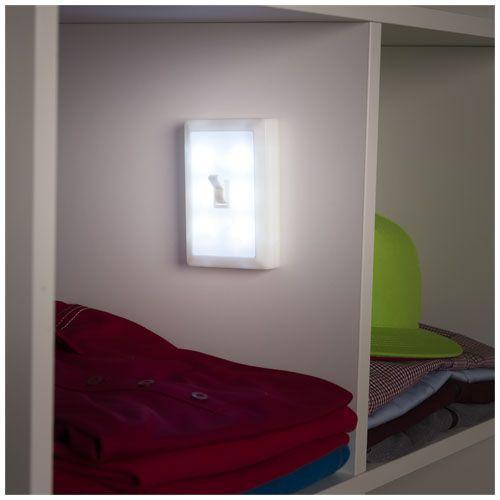 Lampe 6 LED Switz - blanc