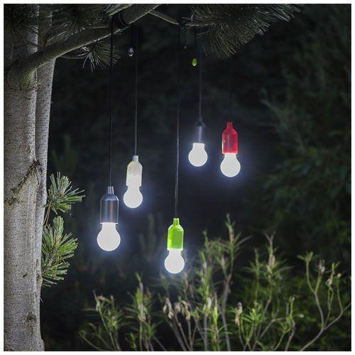 Lampe LED avec cordon Helper - rouge