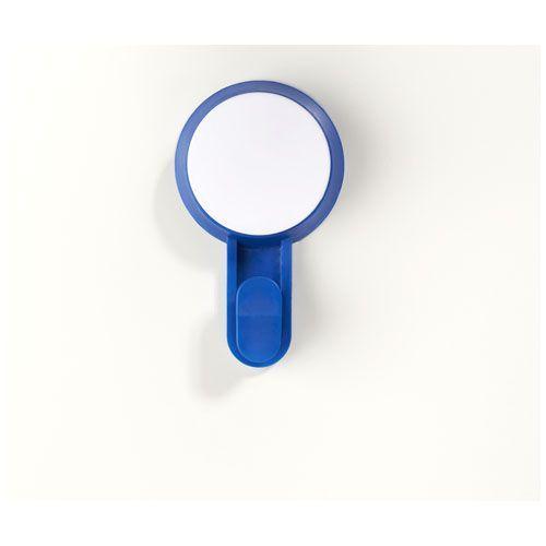 Crochet à ventouse Stick - bleu