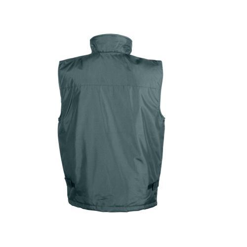 Bodywarmer multi-poches doublé polaire - vert forêt
