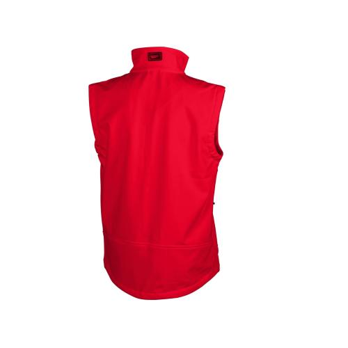Gilet Soft-Shell homme - rouge