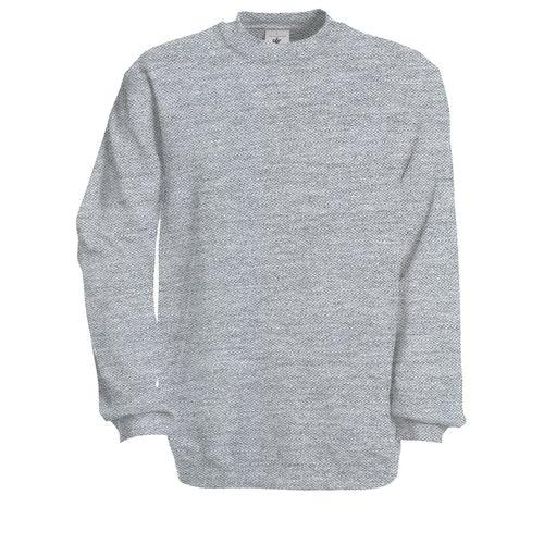 Sweat-shirt - gris chiné