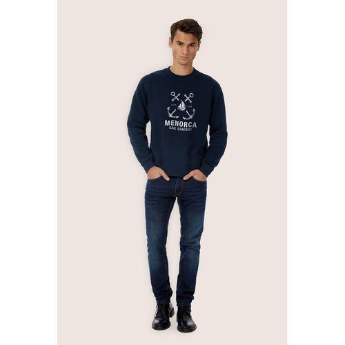 Sweat-shirt - bleu marine