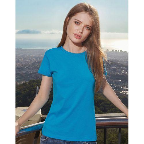 Femmes T-Shirt 140 g/m2 - bleu atoll