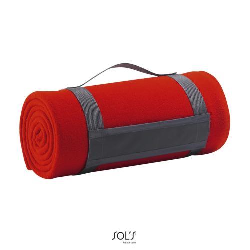 PLAID POLAIRE PLAID - rouge