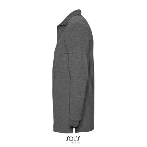 POLO HOMME WINTER II - anthracite chiné