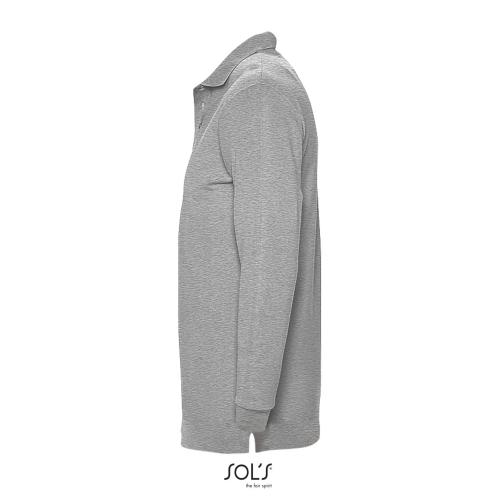 POLO HOMME WINTER II - gris chiné