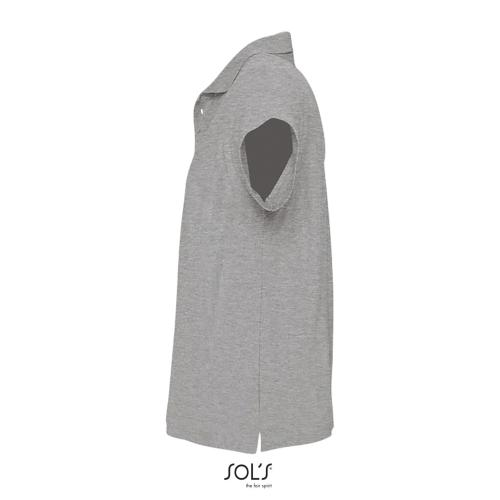 POLO HOMME SUMMER II - gris chiné