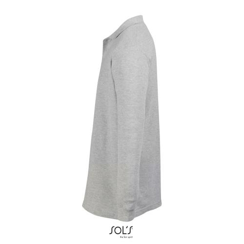 POLO HOMME STAR - gris chiné