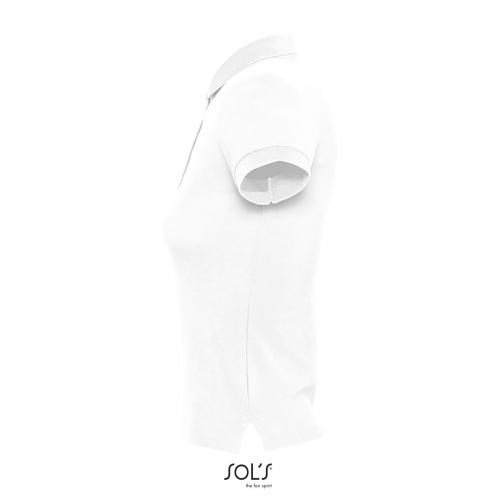 POLO FEMME PEOPLE - blanc