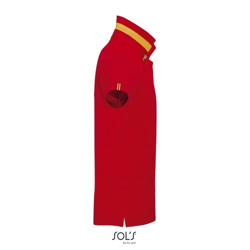 POLO HOMME PATRIOT - rouge