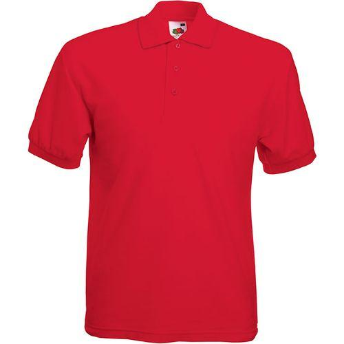 POLO HOMME 65/35 (63-402-0) - rouge