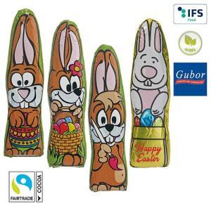 Lapin de Pâques en chocolat MINI - motifs standards