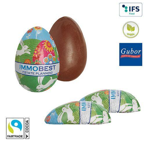 Demi-œuf de Pâques en chocolat -