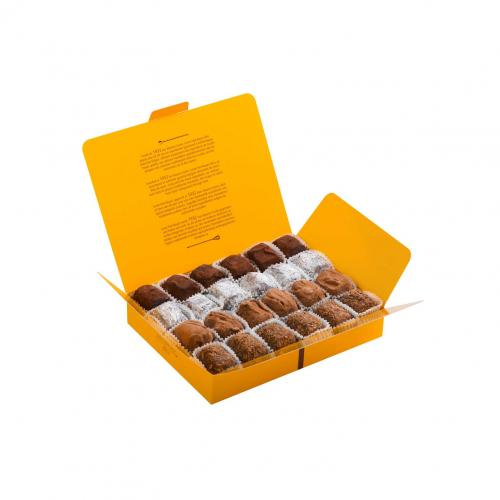 Boîte garnie 24 truffes -